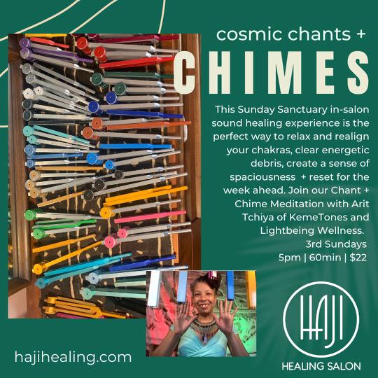 Upcoming Cosmic Chants & Chimes